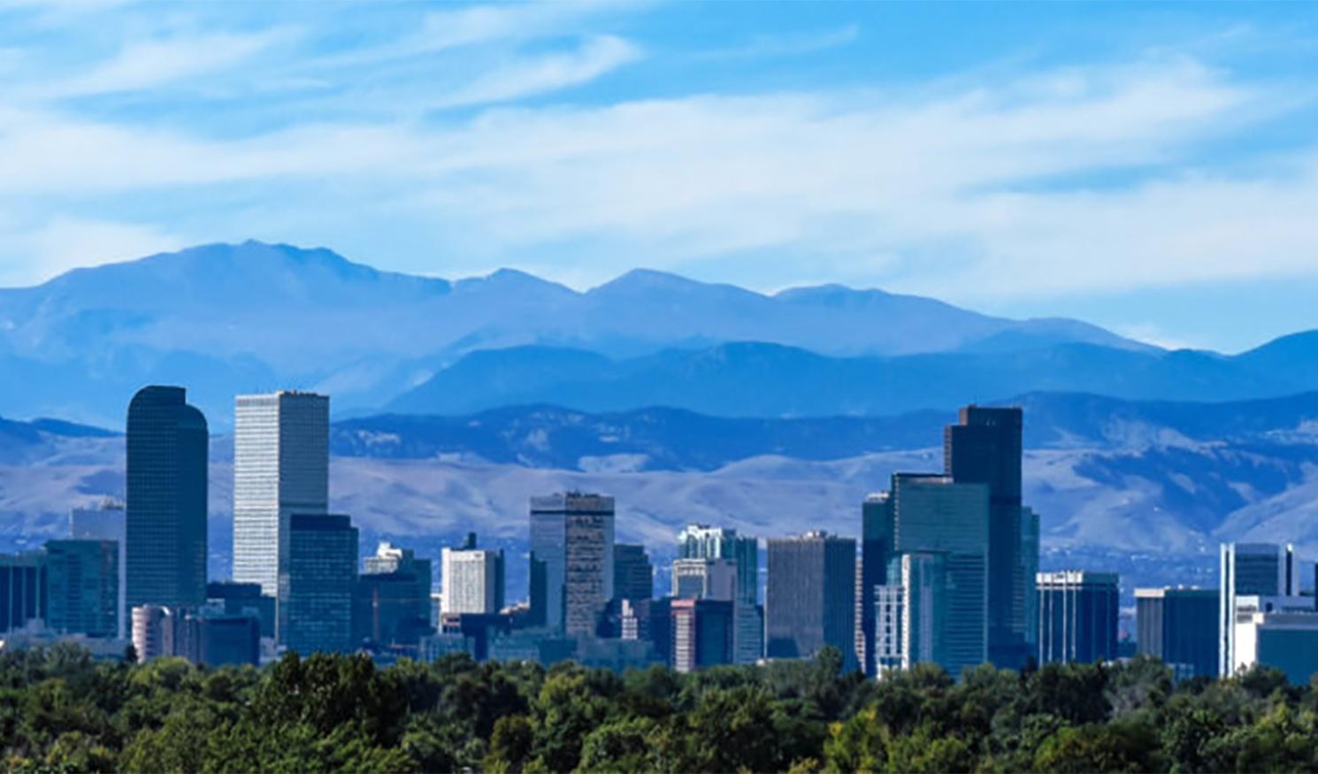 Denver city skyline
