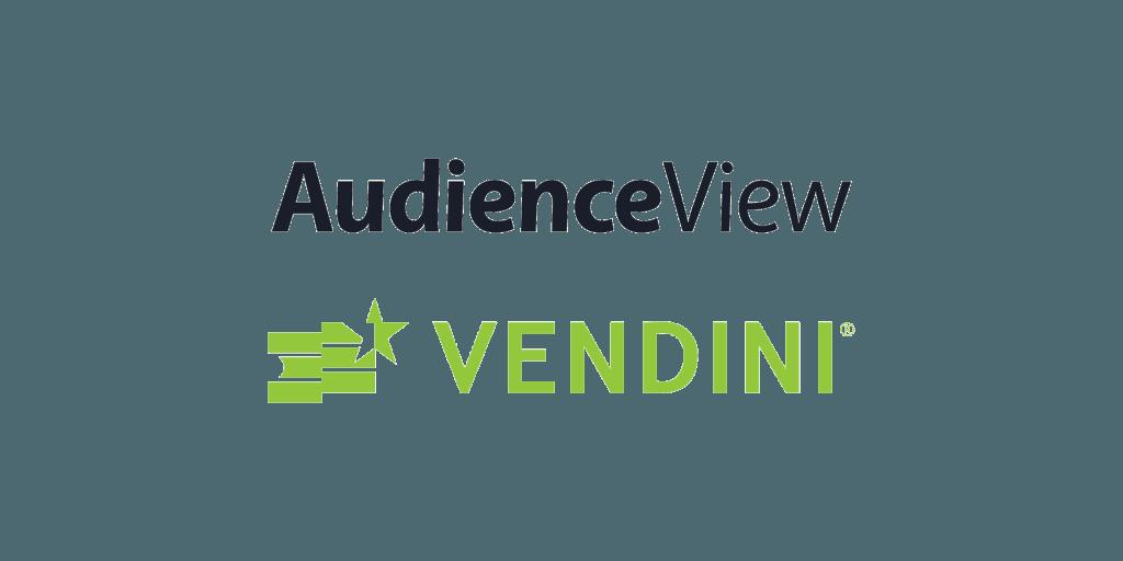 AudienceView and Vendini logos