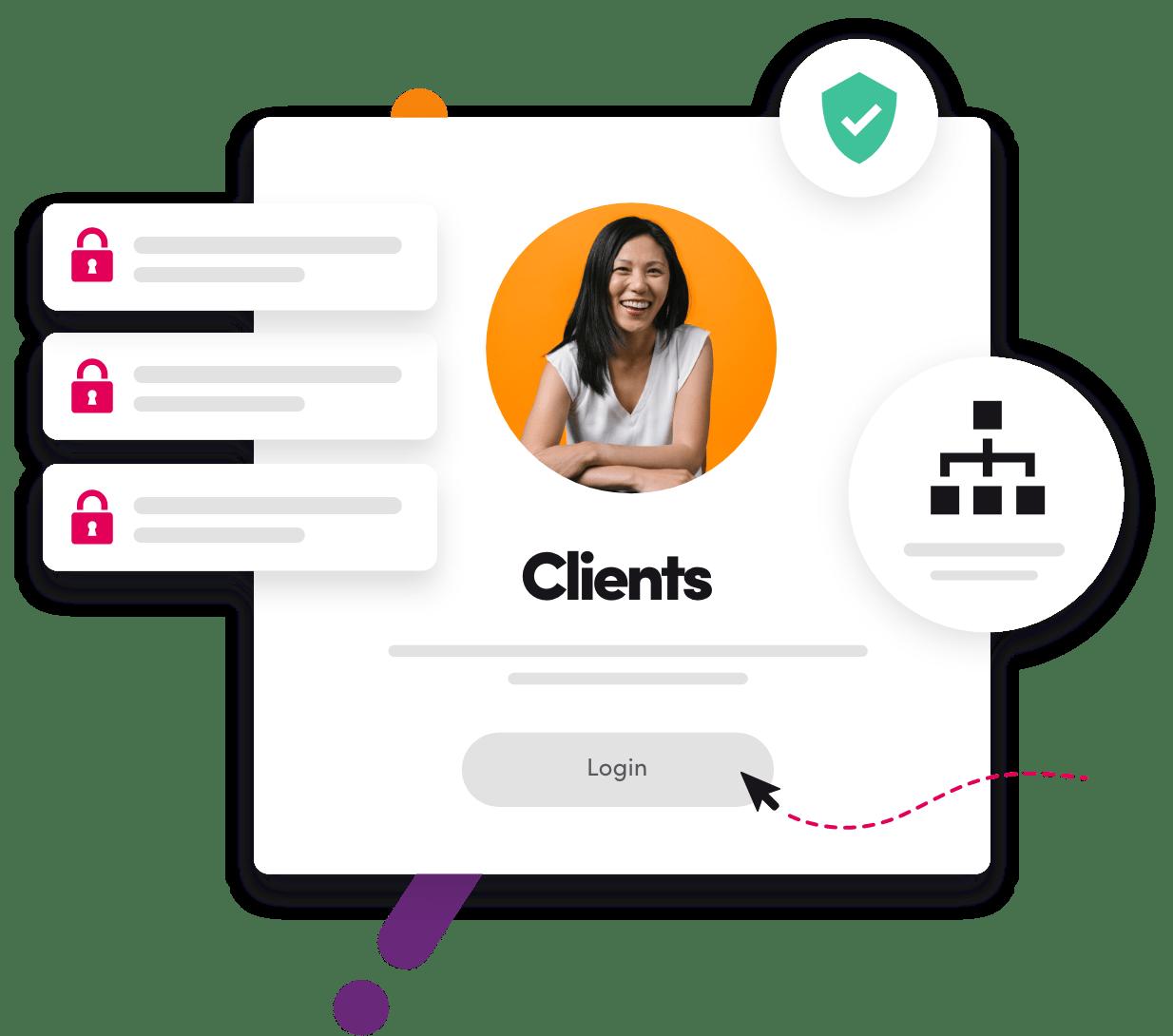 Client Access Illustration