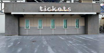 Football stadium Ticket Office