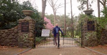 Duke Gardens entrance